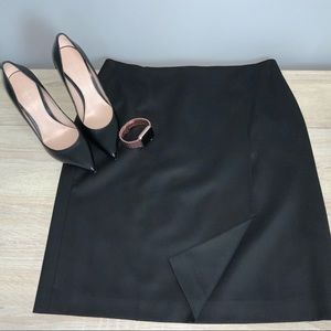NWT Brooks Brothers Size 8 Women's Black Skirt